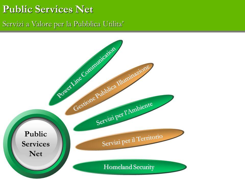 Public Services Net Servizi a Valore per la Pubblica Utilita'