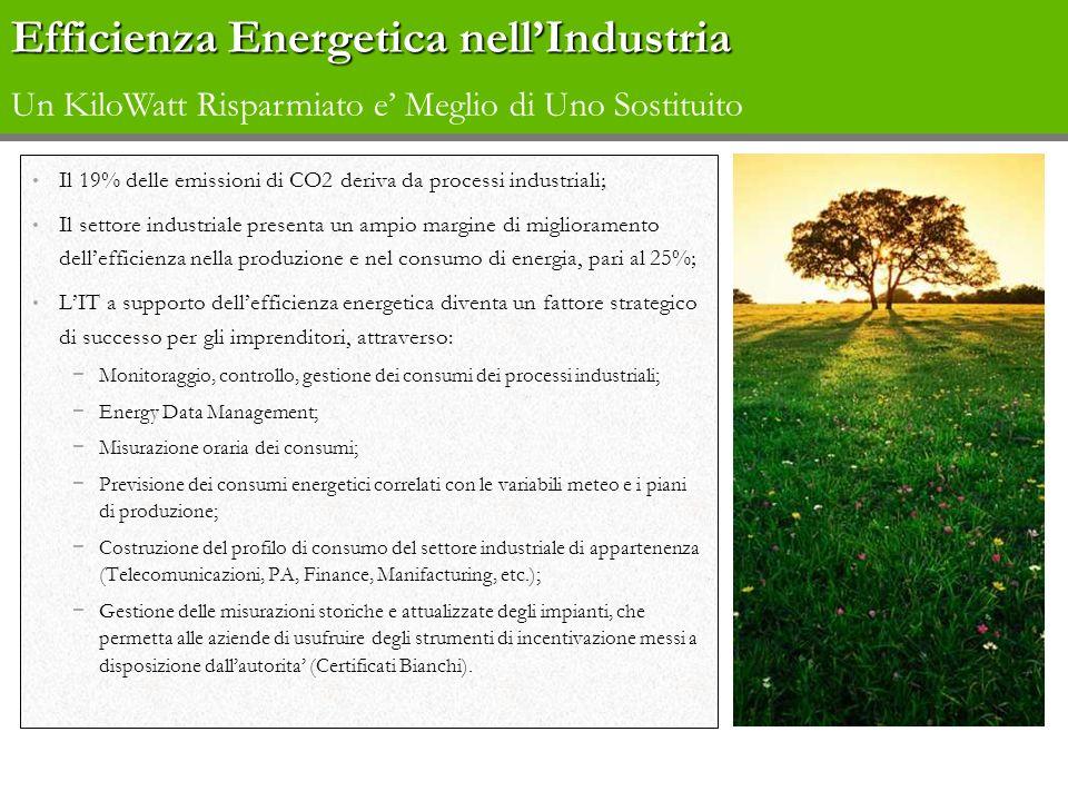 Efficienza Energetica nell'Industria Un KiloWatt Risparmiato e' Meglio di Uno Sostituito