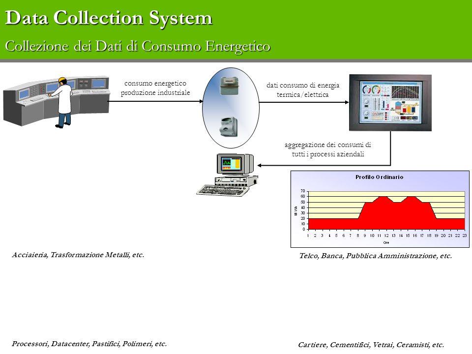 Data Collection System Collezione dei Dati di Consumo Energetico
