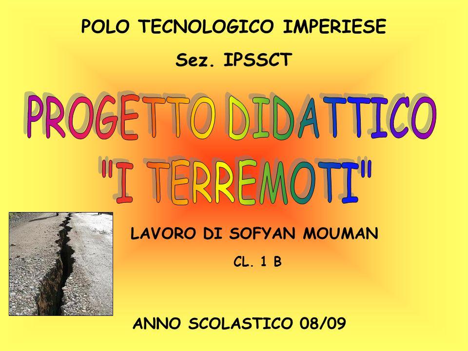 POLO TECNOLOGICO IMPERIESE LAVORO DI SOFYAN MOUMAN