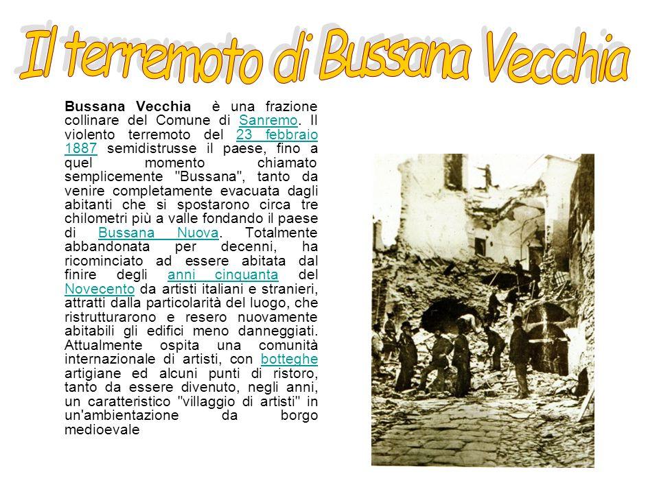 Il terremoto di Bussana Vecchia