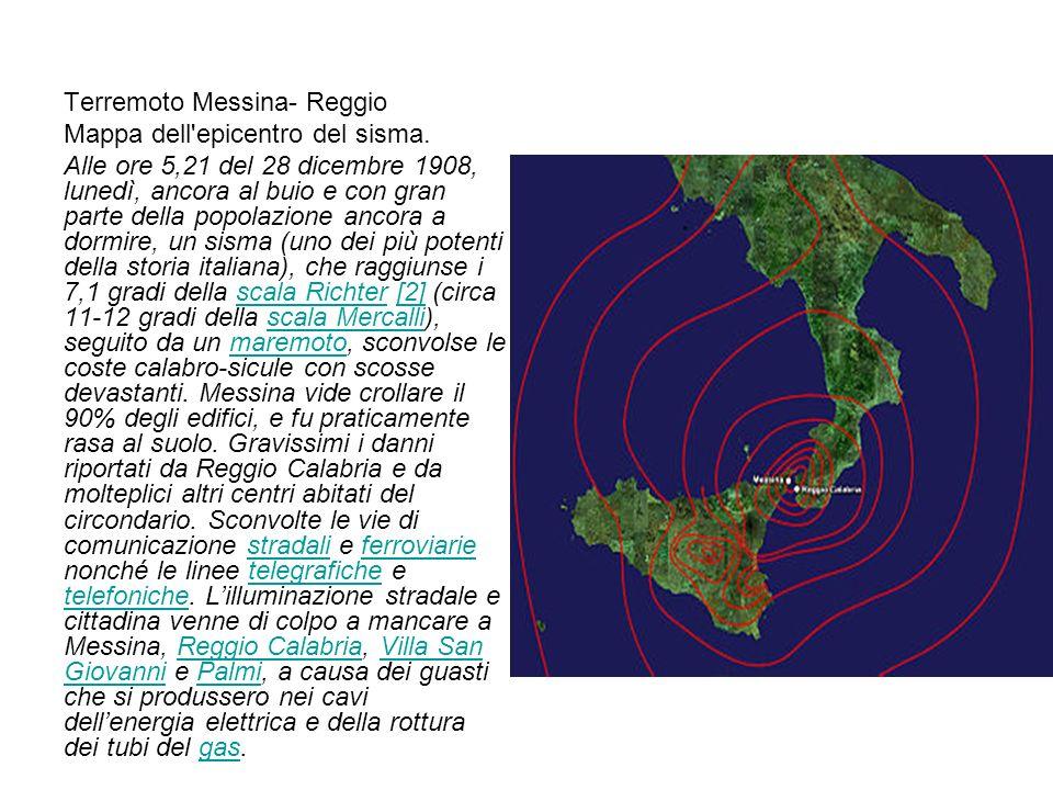 Terremoto Messina- Reggio