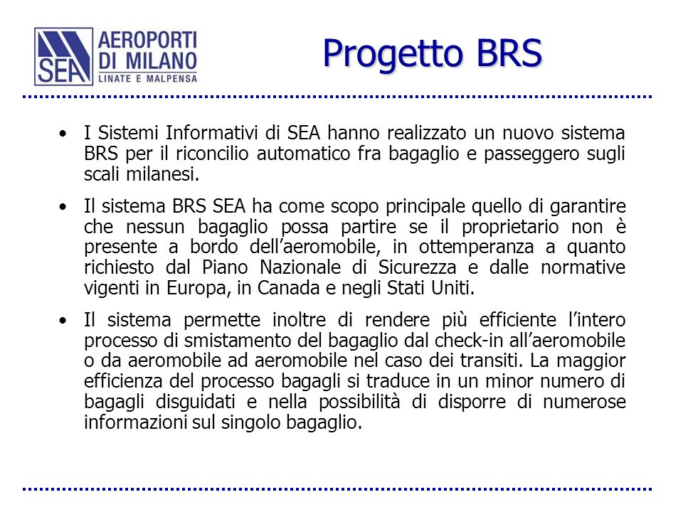 Progetto BRS