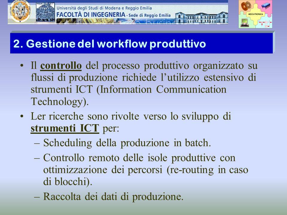 2. Gestione del workflow produttivo