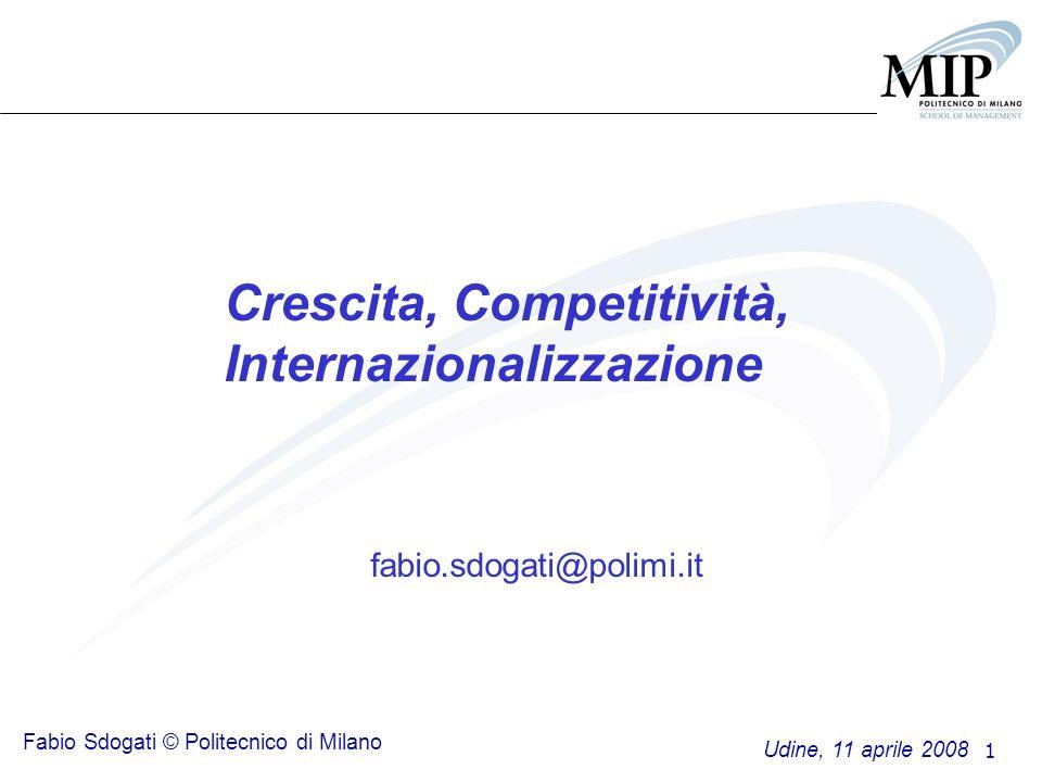 Crescita, Competitività, Internazionalizzazione