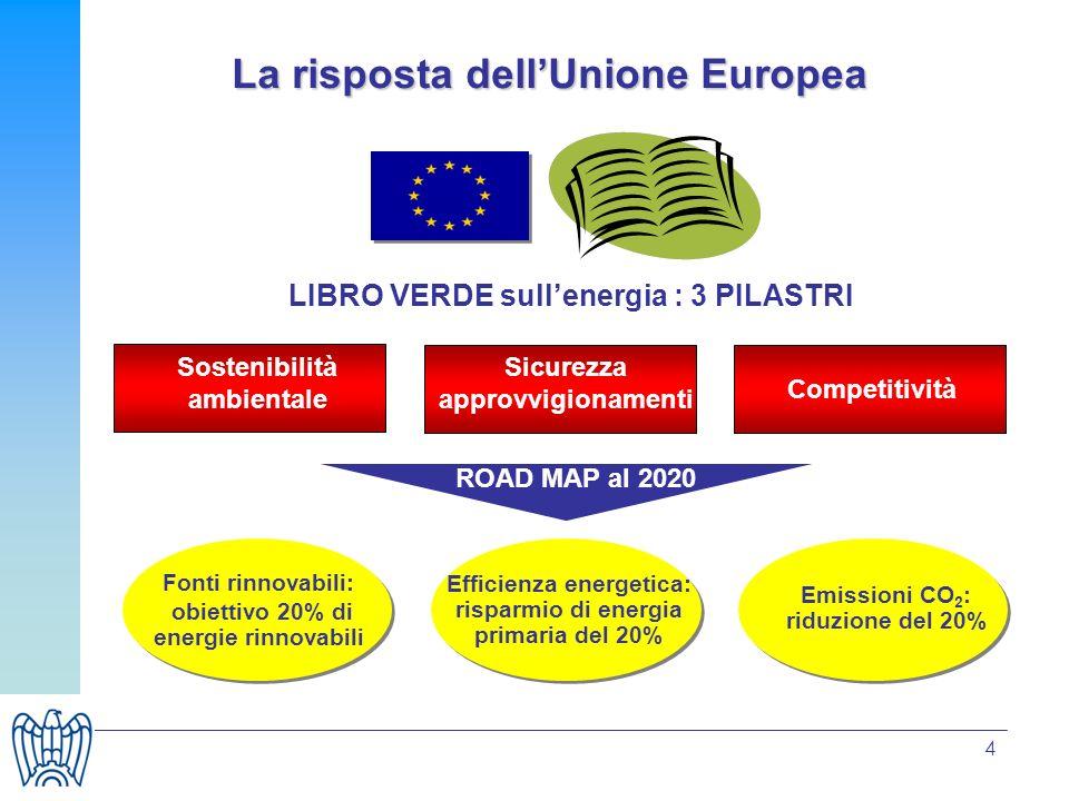 La risposta dell'Unione Europea