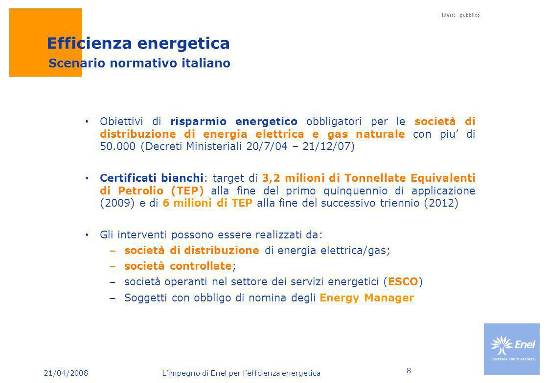 Efficienza energetica