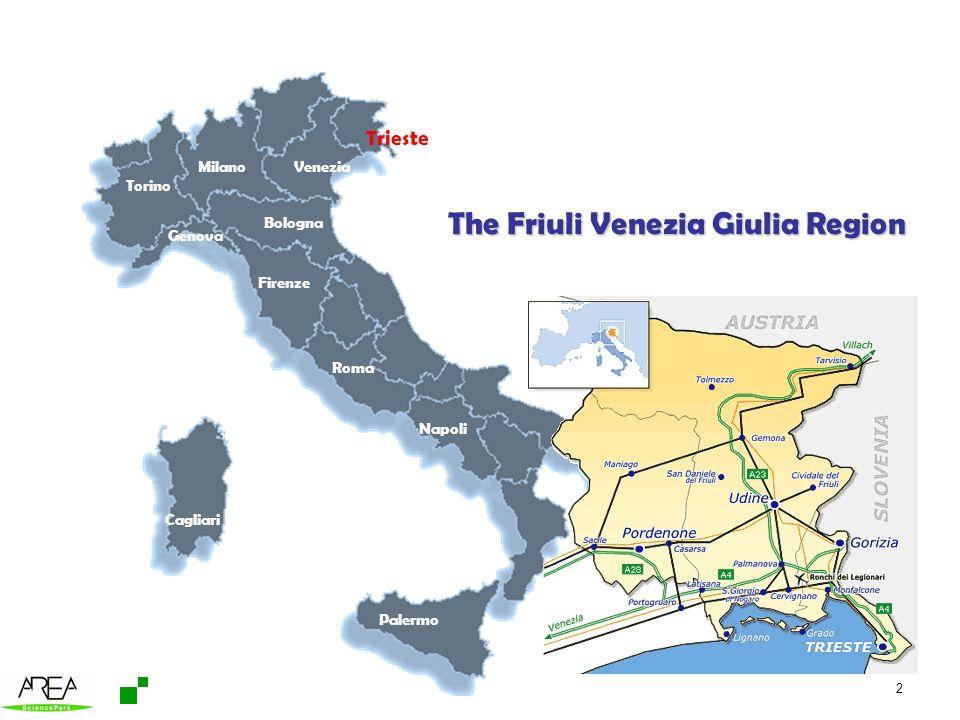 The Friuli Venezia Giulia Region
