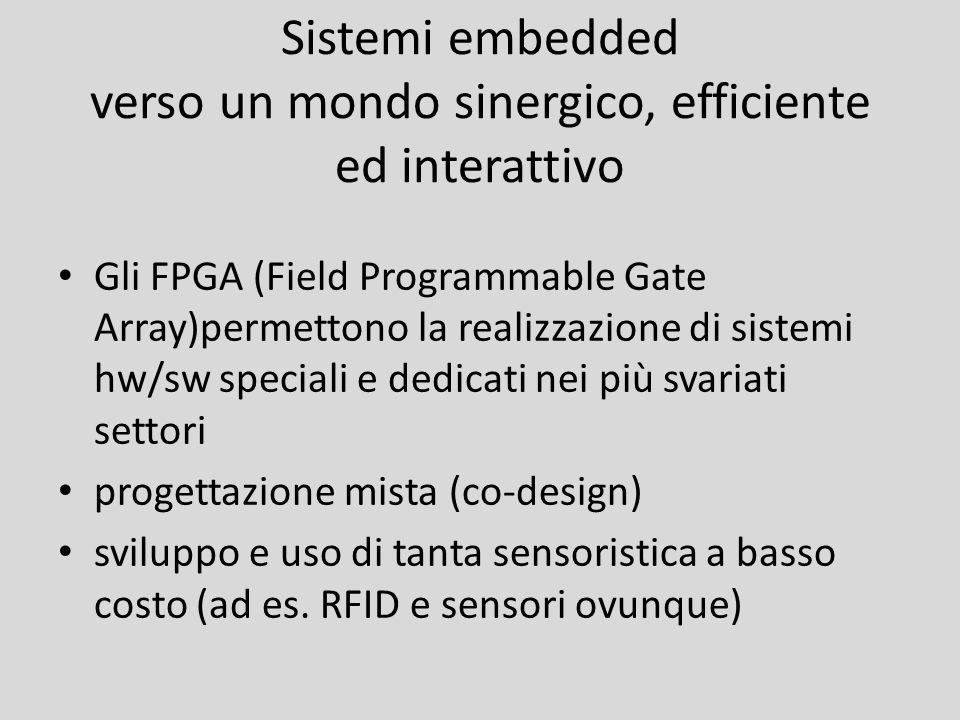 Sistemi embedded verso un mondo sinergico, efficiente ed interattivo