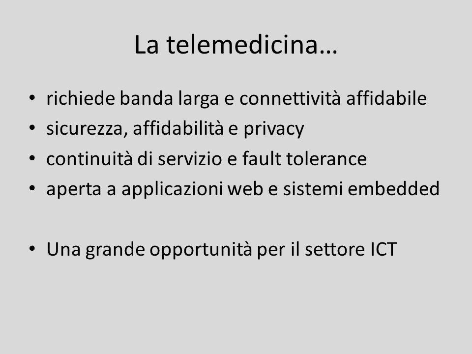 La telemedicina… richiede banda larga e connettività affidabile