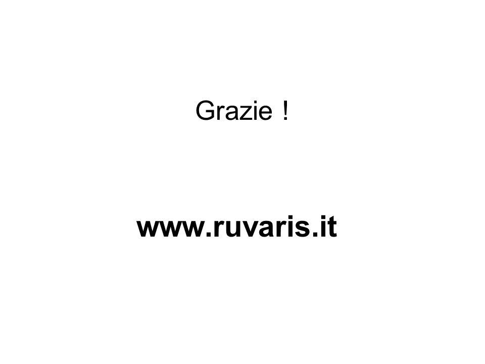 Grazie ! www.ruvaris.it