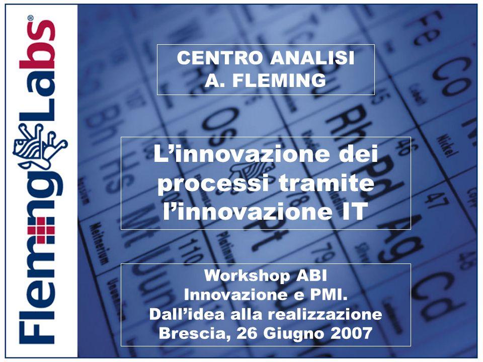 L'innovazione dei processi tramite l'innovazione IT