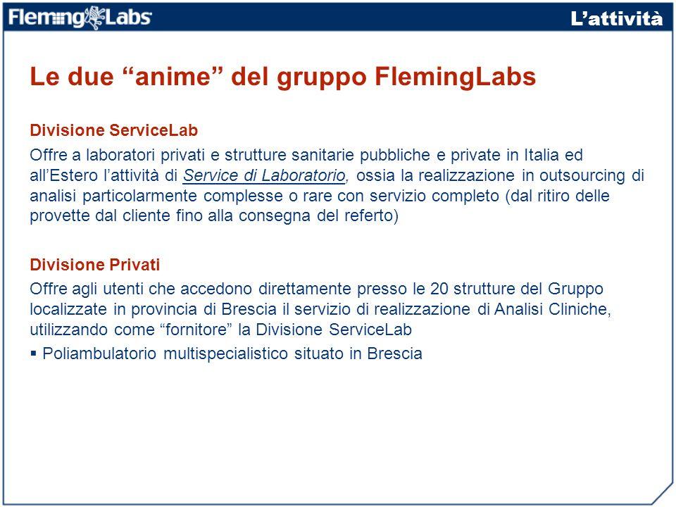 Le due anime del gruppo FlemingLabs