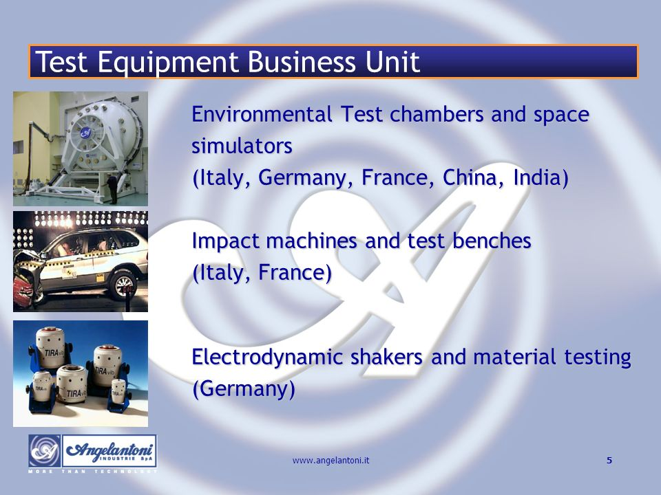 Test Equipment Business Unit