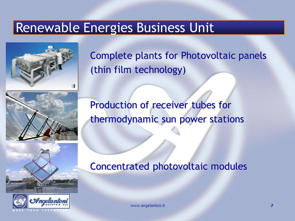 Renewable Energies Business Unit