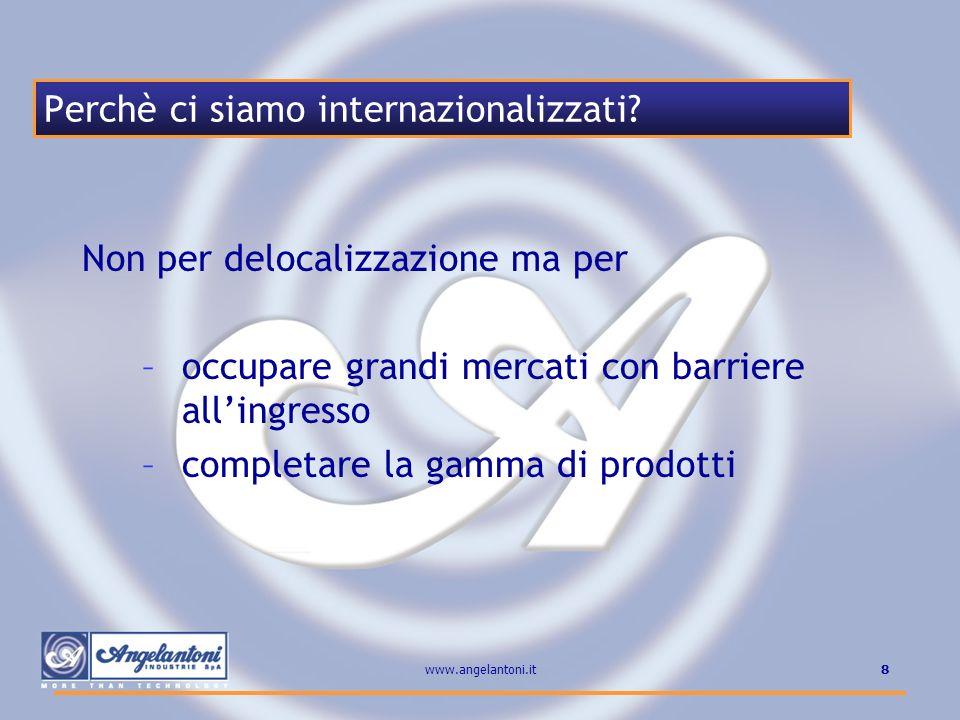 Perchè ci siamo internazionalizzati
