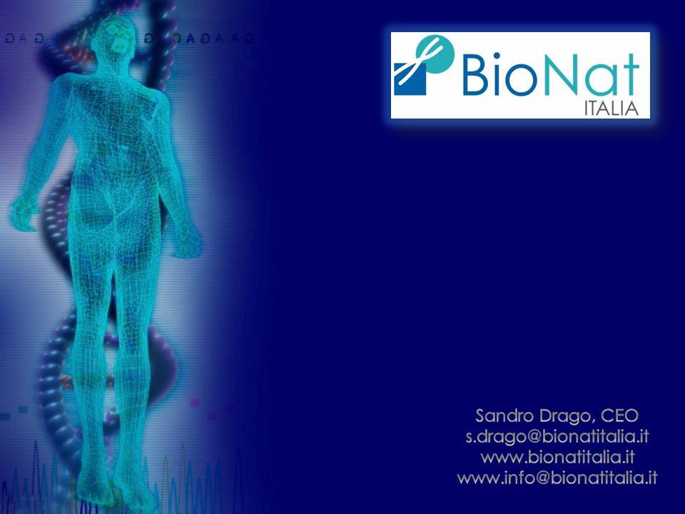 Sandro Drago, CEO s.drago@bionatitalia.it www.bionatitalia.it www.info@bionatitalia.it