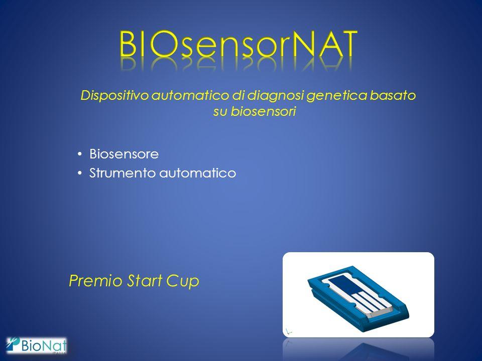Dispositivo automatico di diagnosi genetica basato su biosensori