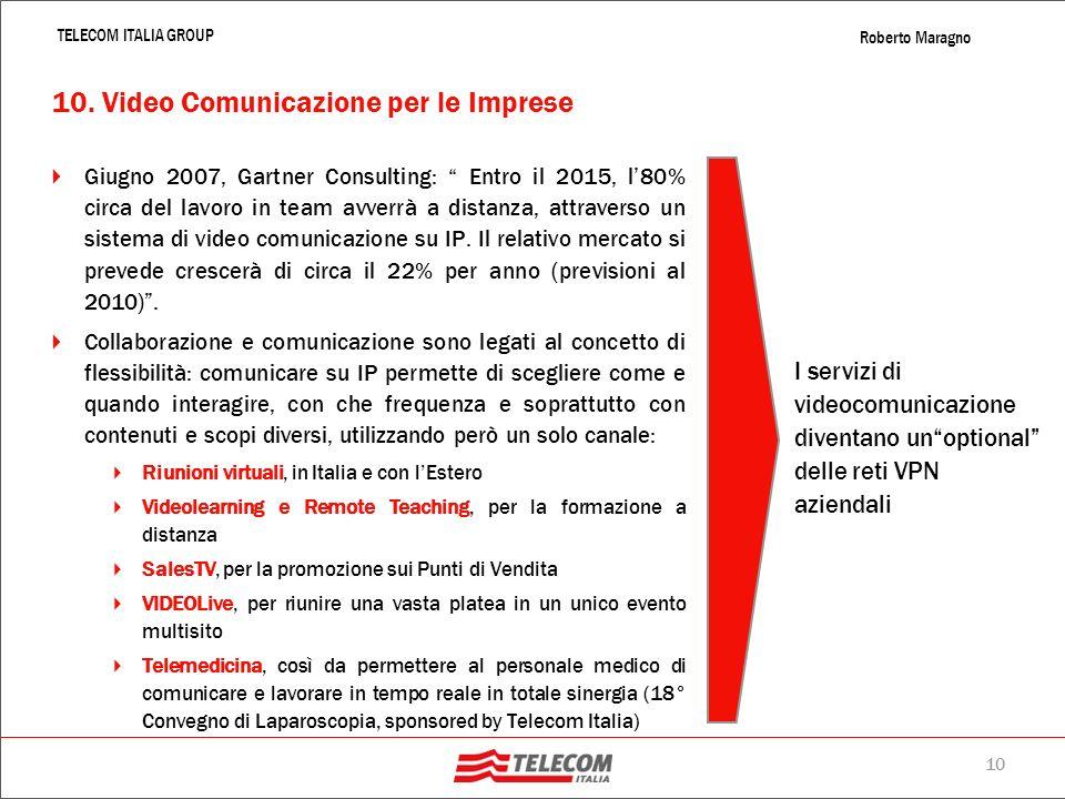 10. Video Comunicazione per le Imprese