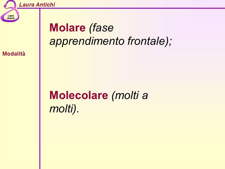 Molare (fase apprendimento frontale);