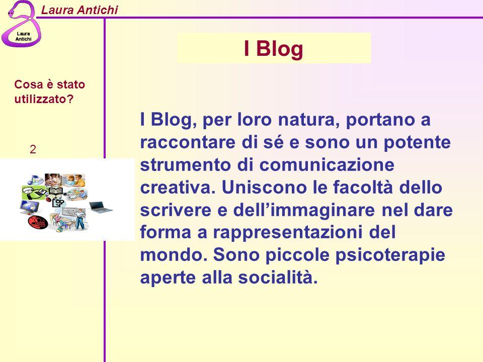 I Blog Cosa è stato utilizzato