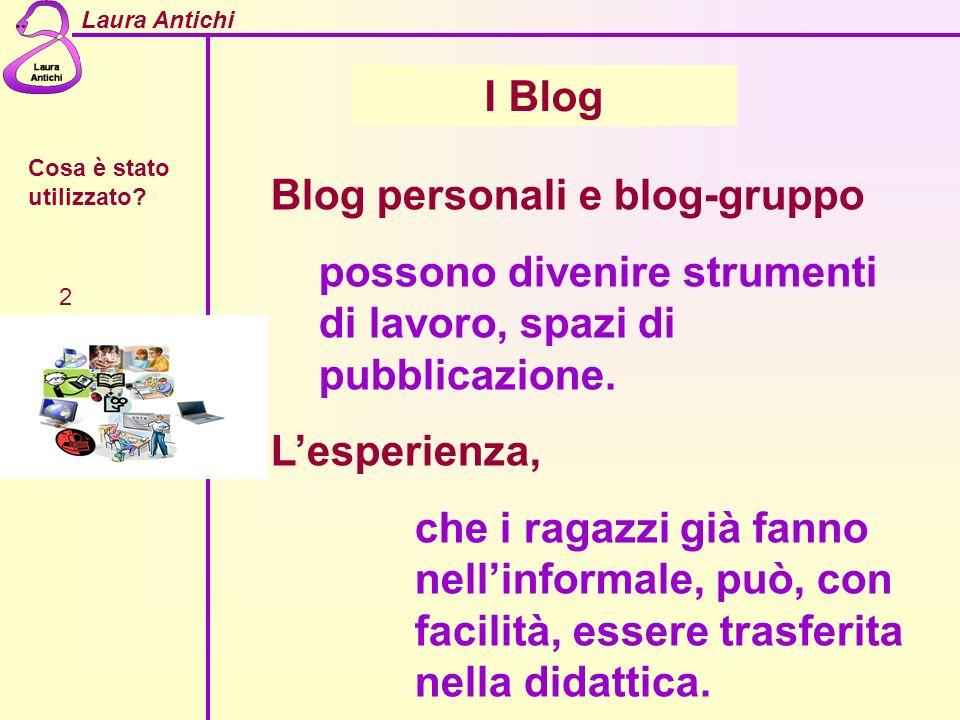 Blog personali e blog-gruppo