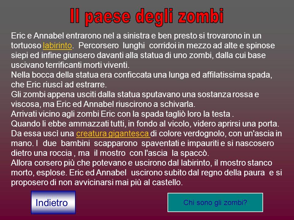 Il paese degli zombi Indietro