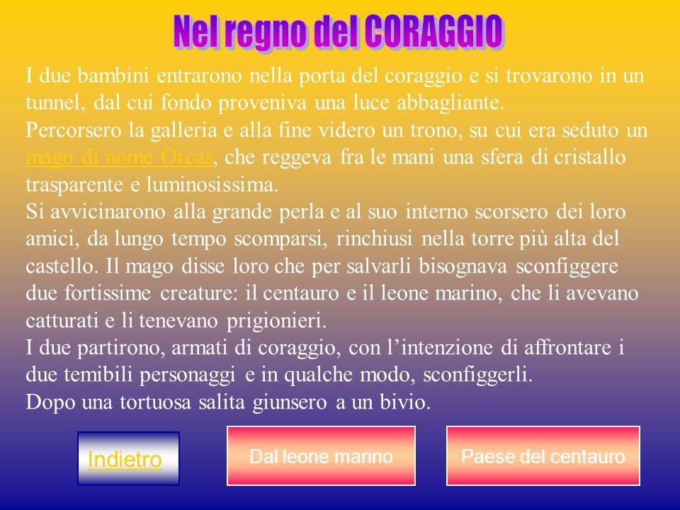 Nel regno del CORAGGIO