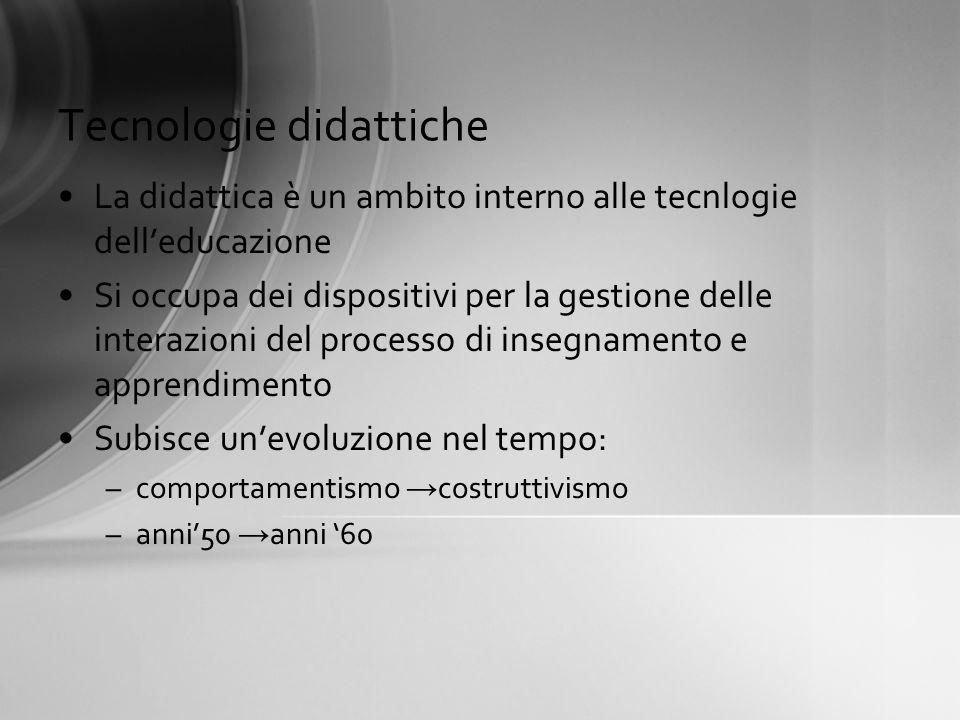 Tecnologie didattiche