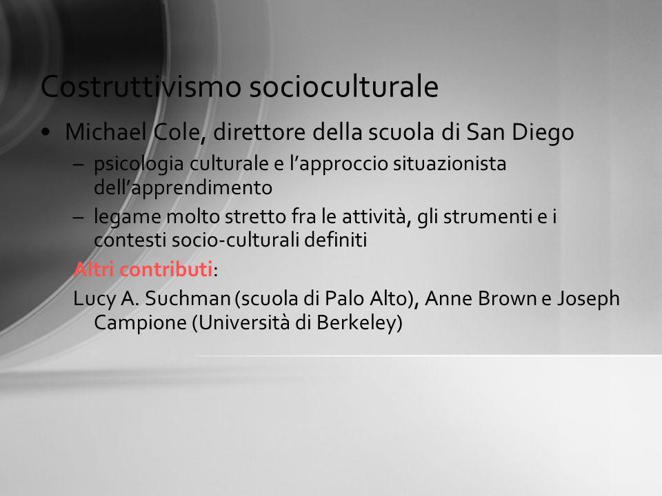Costruttivismo socioculturale