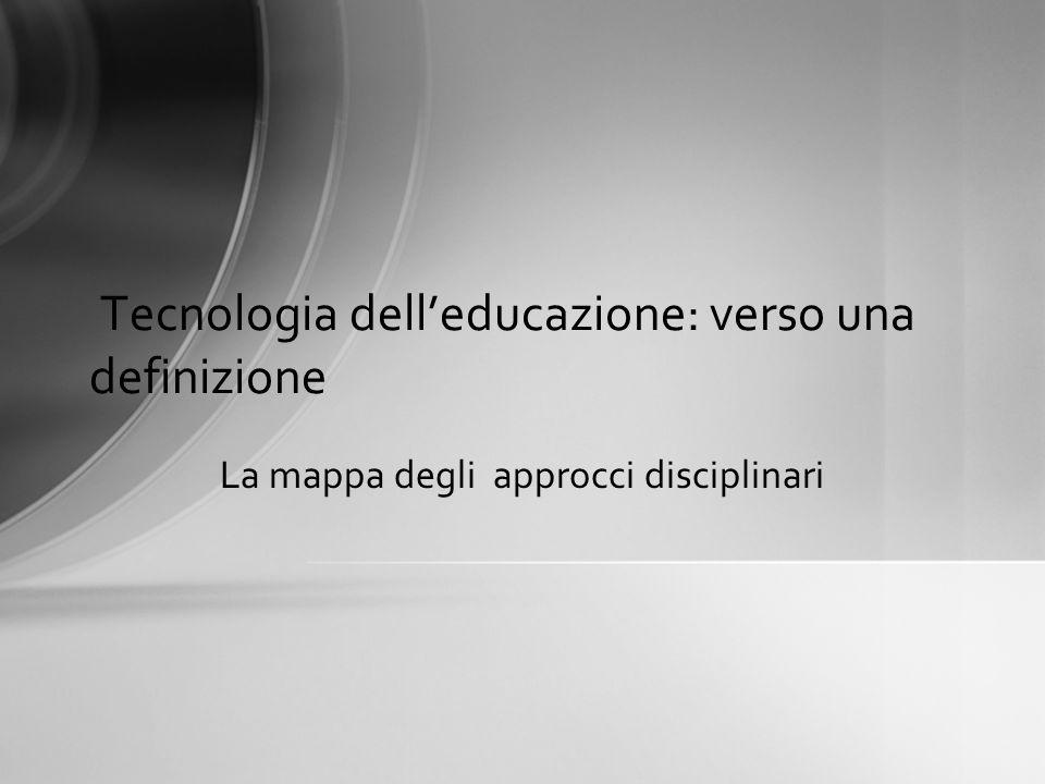 Tecnologia dell'educazione: verso una definizione