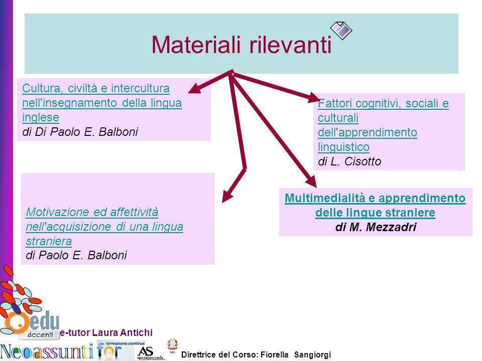 Multimedialità e apprendimento delle lingue straniere di M. Mezzadri