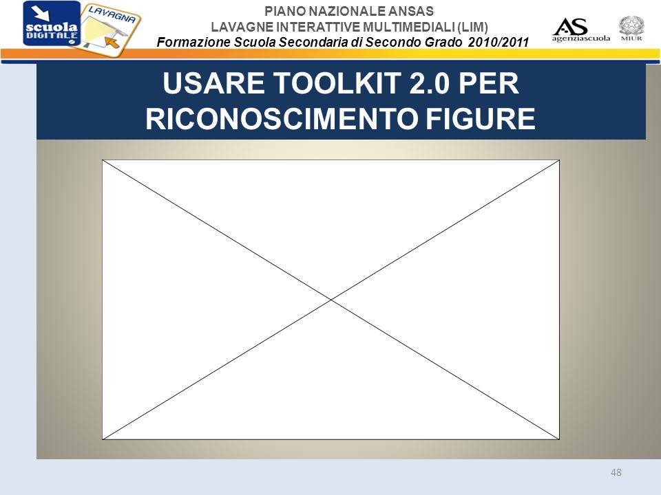 USARE TOOLKIT 2.0 PER RICONOSCIMENTO FIGURE