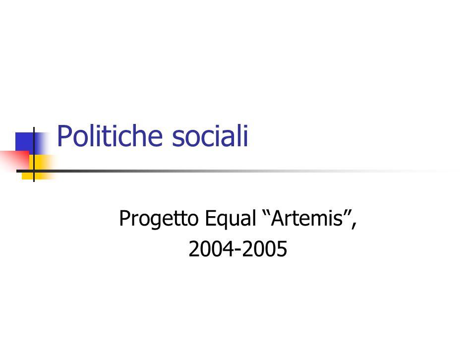 Progetto Equal Artemis , 2004-2005