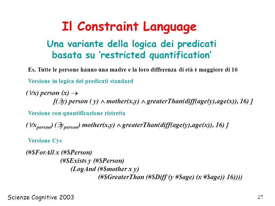 Il Constraint Language