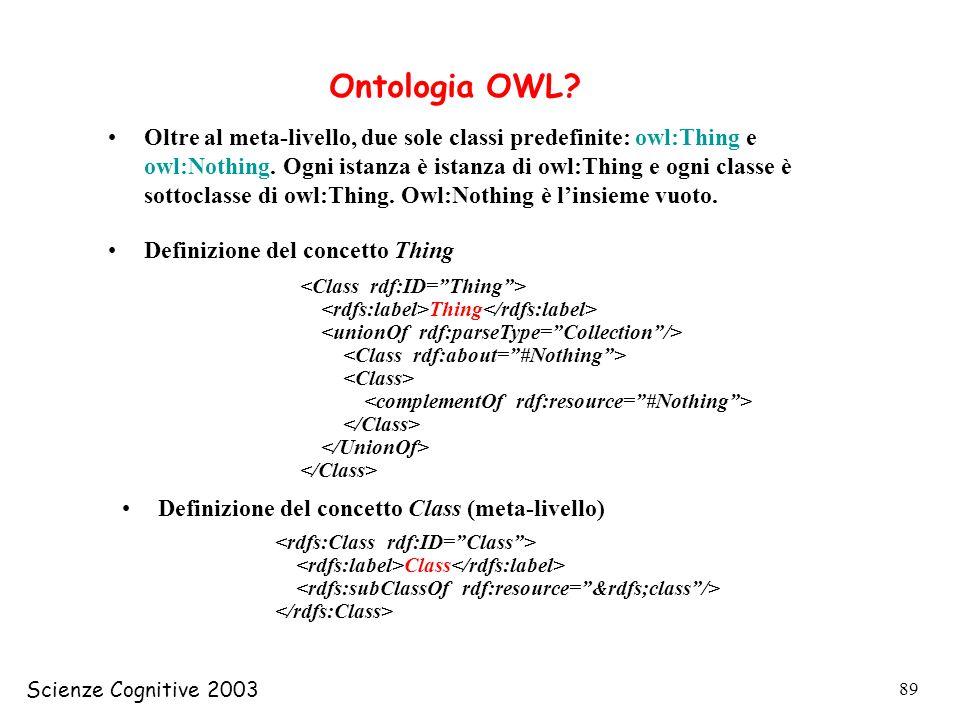 Ontologia OWL