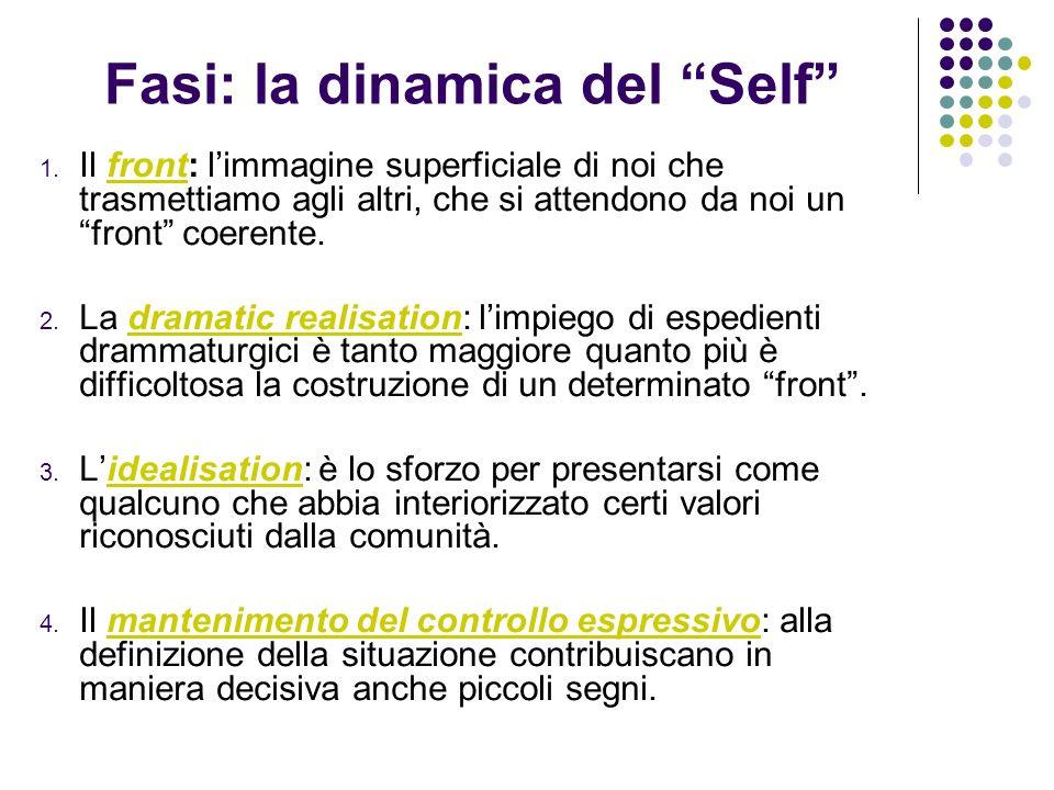 Fasi: la dinamica del Self