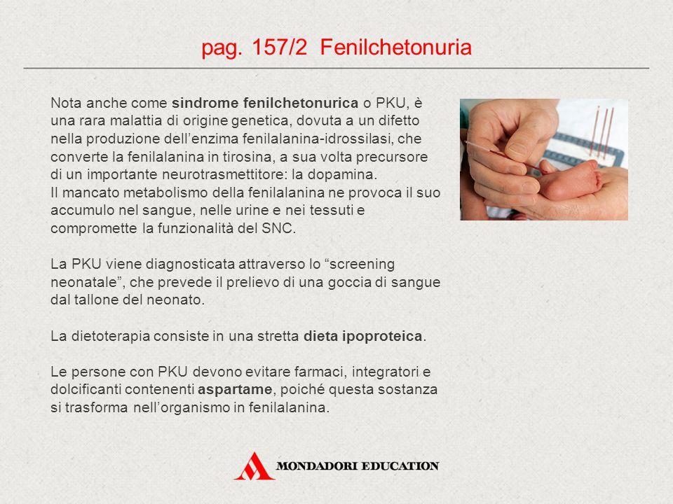 pag. 157/2 Fenilchetonuria