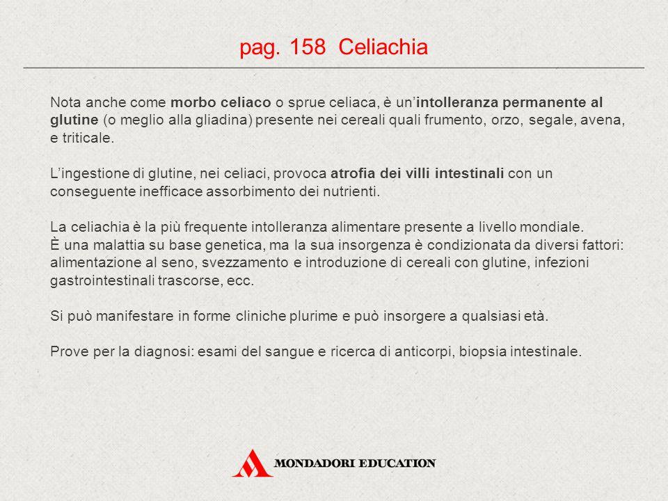 pag. 158 Celiachia