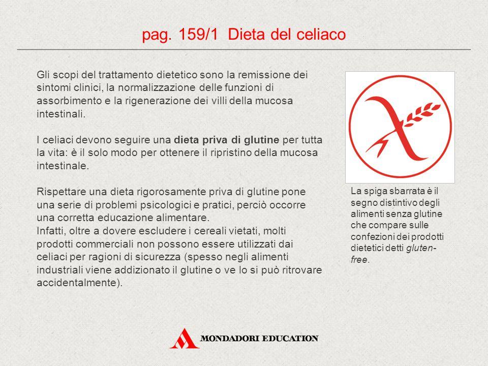 pag. 159/1 Dieta del celiaco