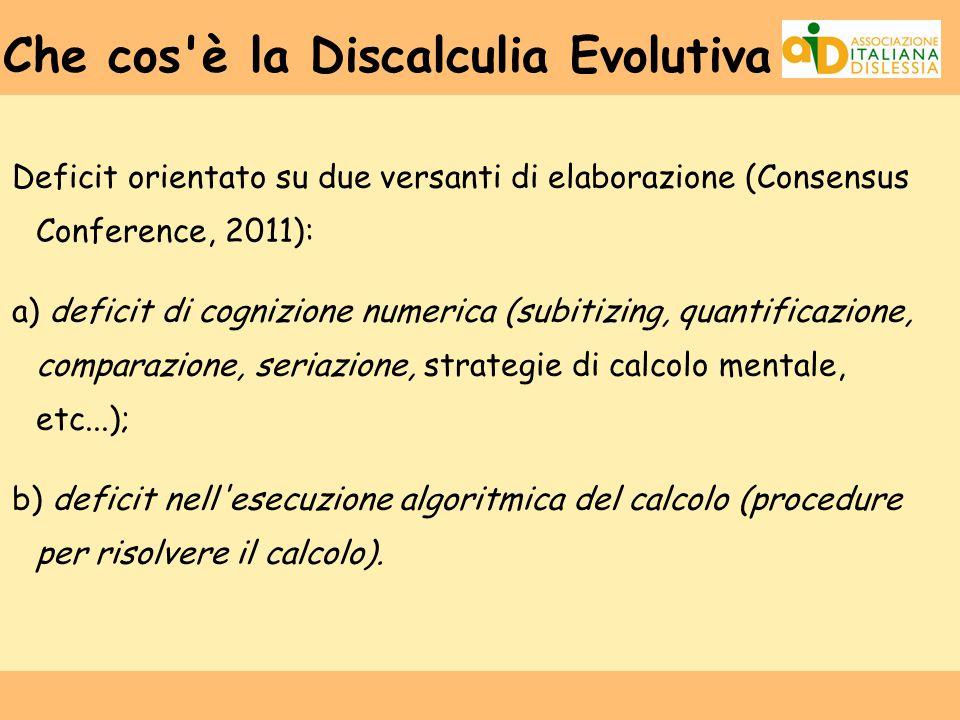 Che cos è la Discalculia Evolutiva