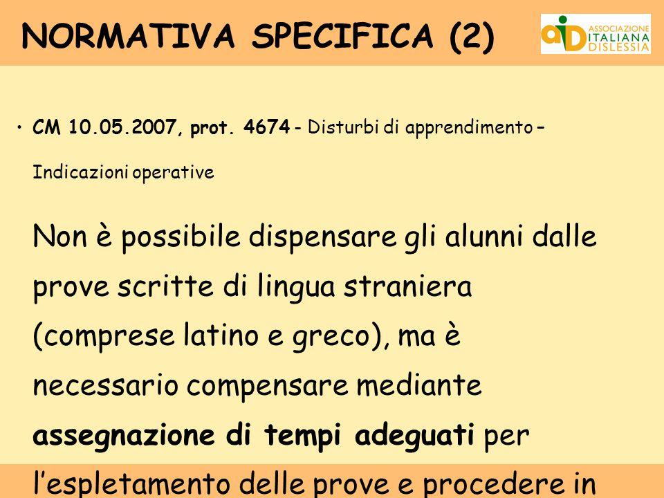 NORMATIVA SPECIFICA (2)