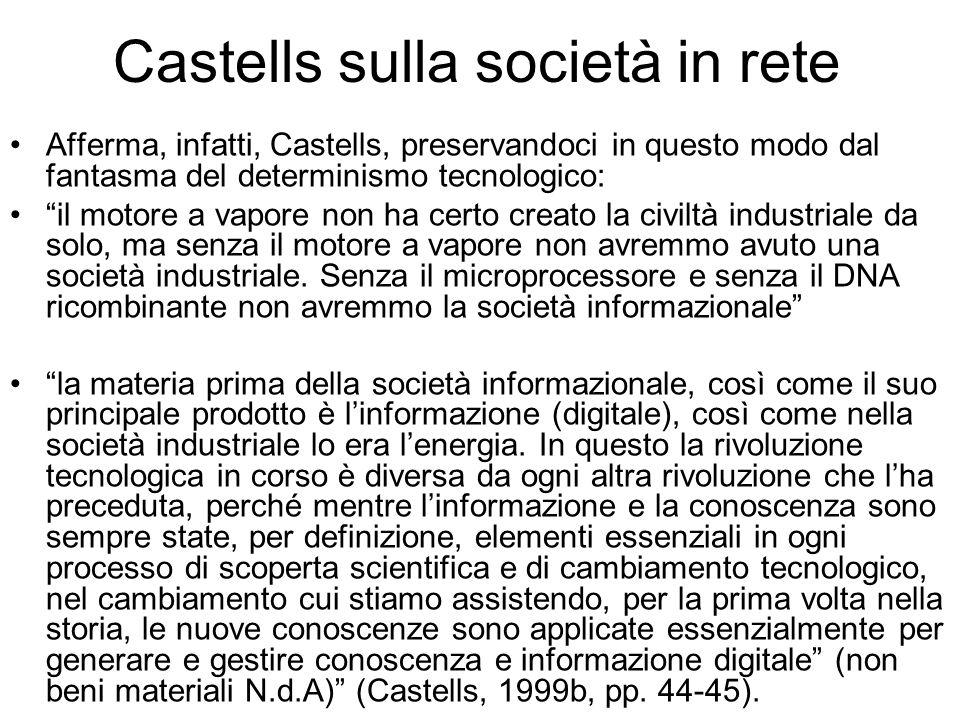 Castells sulla società in rete