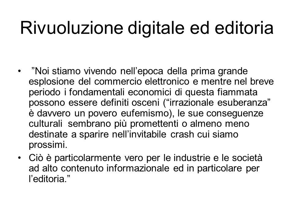 Rivuoluzione digitale ed editoria