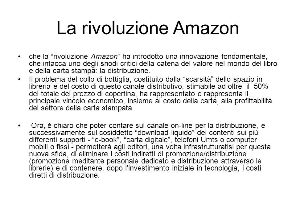 La rivoluzione Amazon