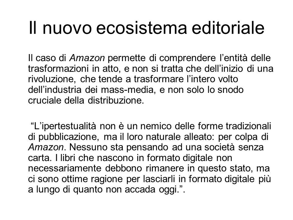 Il nuovo ecosistema editoriale