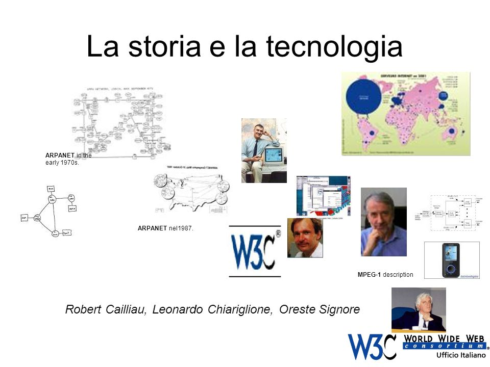 La storia e la tecnologia