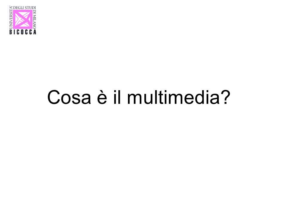 Cosa è il multimedia