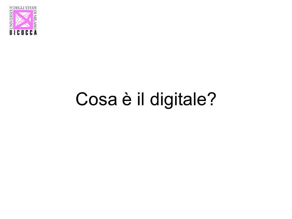 Cosa è il digitale