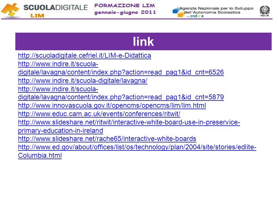 link http://scuoladigitale.cefriel.it/LIM-e-Didattica